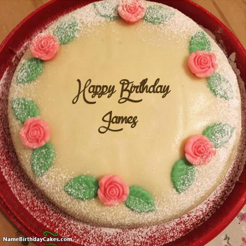 Happy birthday james cake download share thecheapjerseys Images