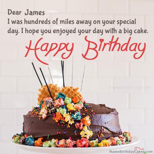 Happy birthday james pictures download share altavistaventures Image collections