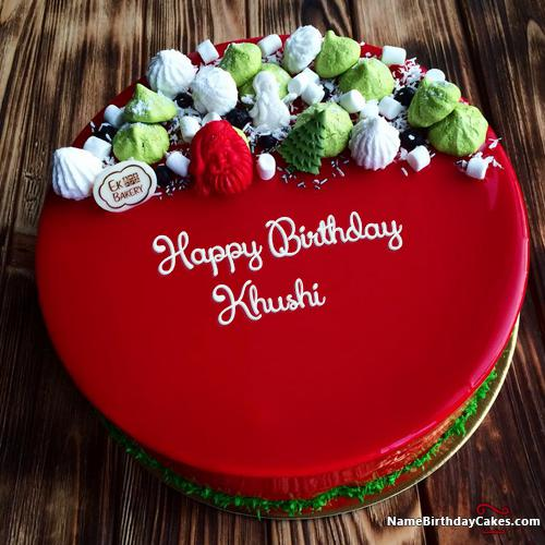 Happy Birthday Khushi Cake Images Download Share