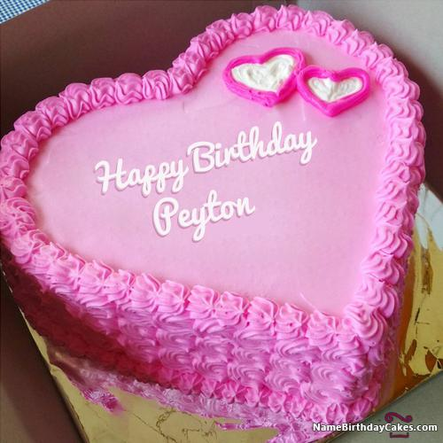 Happy Birthday Peyton Cake
