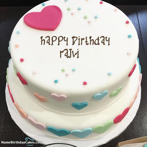 Beautiful Birthday Cake With Name Edit