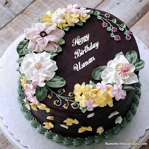 Happy Birthday Usman Cake Images Download Share