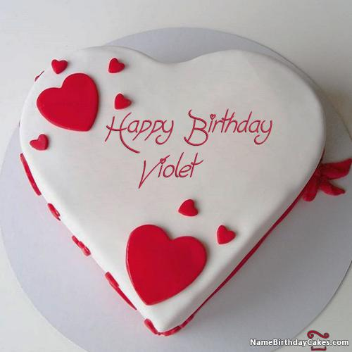 Happy Birthday Violet   Video And Images