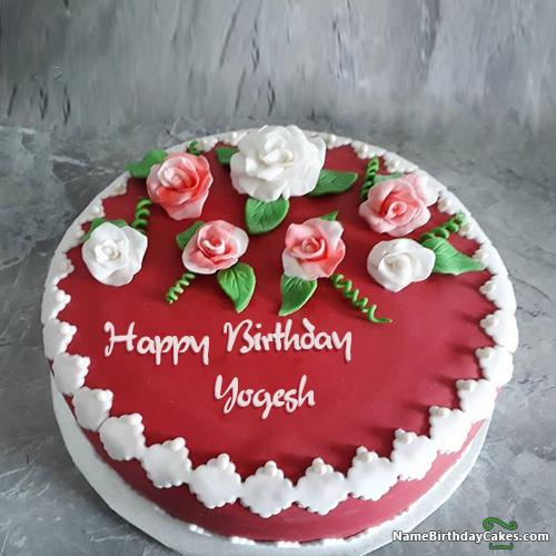 Happy Birthday Yogesh Cake Images Download Share