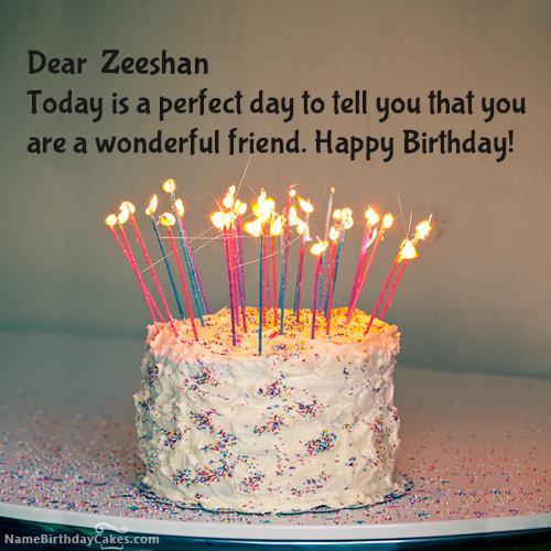 Birthday Wishes For Zeeshan