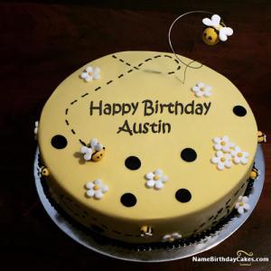 Peachy Happy Birthday Austin Cakes Cards Wishes Funny Birthday Cards Online Fluifree Goldxyz