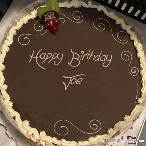 Happy Birthday Joe